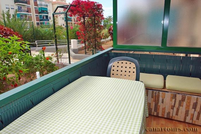 Teneriffa-Los Cristianos-Mirada-Ferienapartment Teneriffa