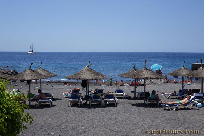 Teneryfa -Callao Salvaje-Casa Rosa-morze, plaża, dom wakacyjny na Teneryfie