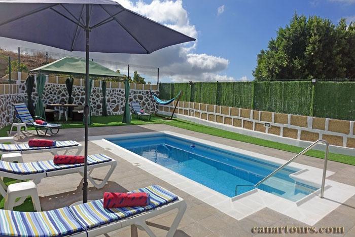 Teneriffa-La Escalona-Finca Paraiso-Ferienhaus mit Pool Teneriffa
