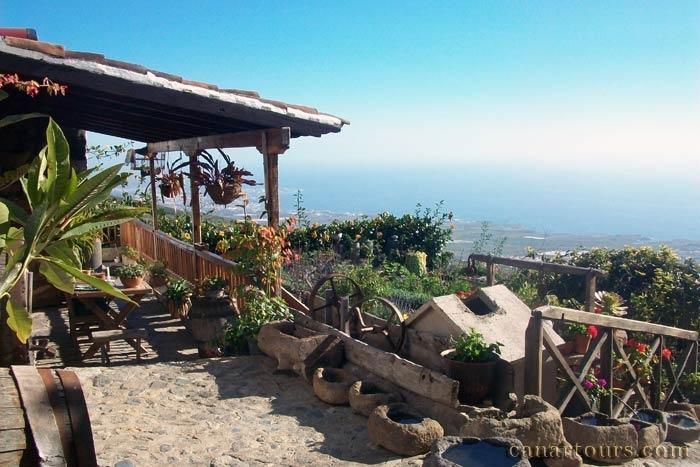 Tenerife-La Concepcion-La Tajona-Tenerife south