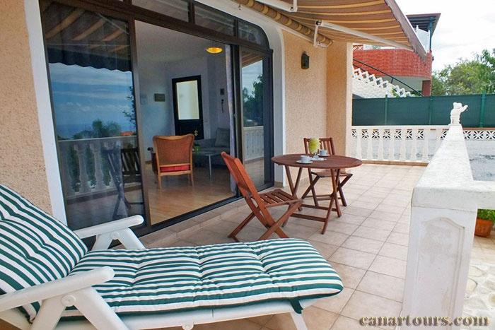 Teneryfa -El Sausal-La Escalera-Apartment wakacyjny Teneryfa
