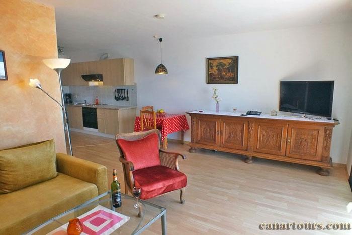Teneryfa -El Sausal-El Puntillo-apartament wakacyjna Teneryfa