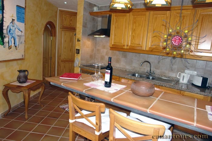 Tenerife-Guia de Isora-Casa Romantica-private accommodation in Tenerife